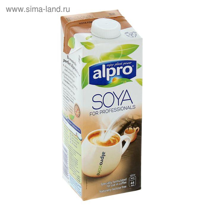 Соевый напиток ALPRO с кальцием оригинальный Professionals, 1 л.
