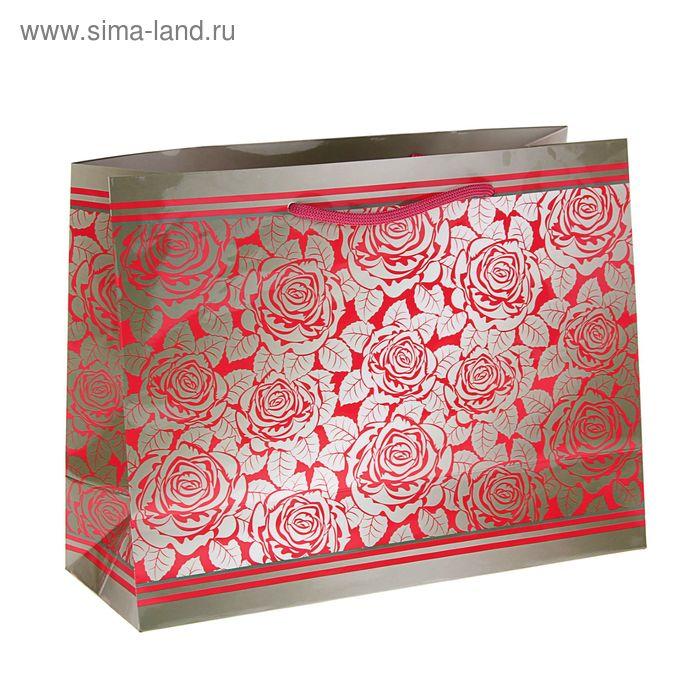 """Пакет подарочный """"Гравюра"""" 32,5 x 24,5 x 12 см"""