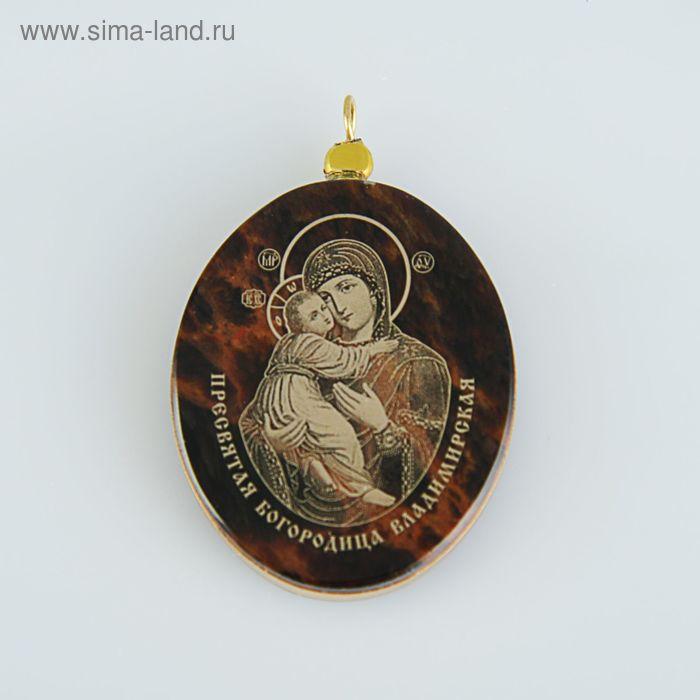 Иконка нательная  Владимирская