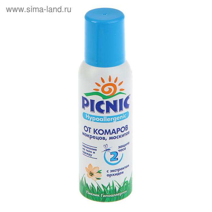 Аэрозоль от комаров Picnic Hypoallergenic, 125 мл