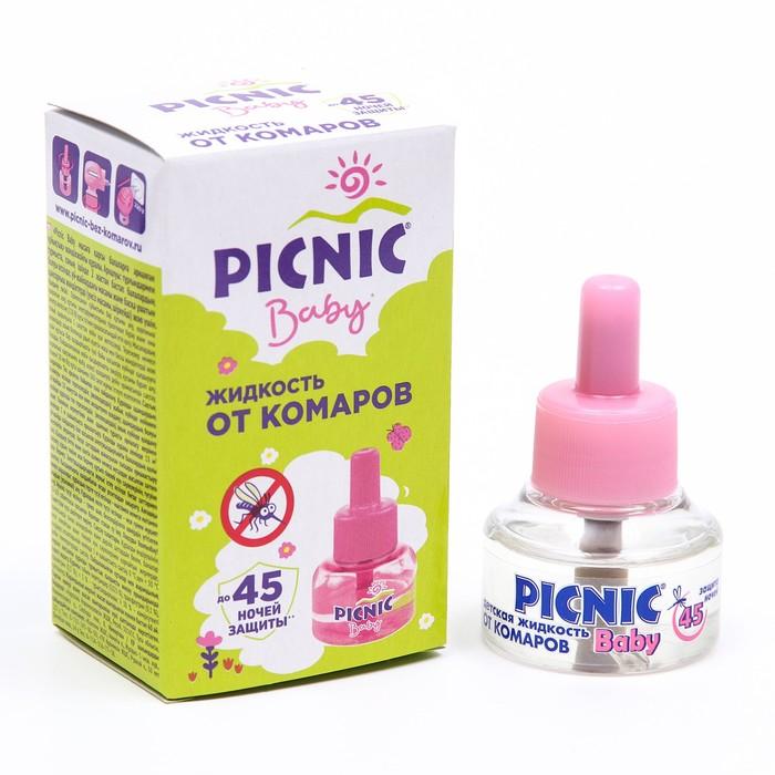 Жидкость от комаров Picnic Baby, 45 ночей, 30 мл