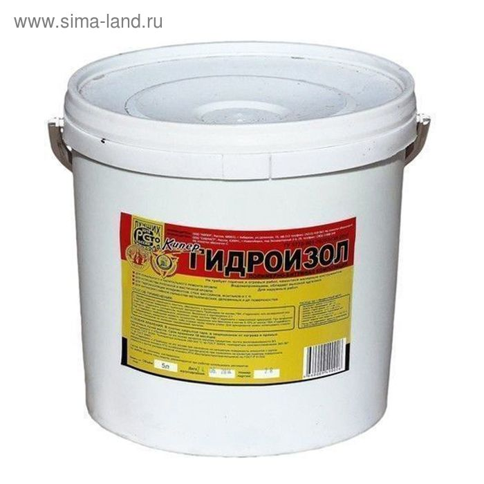 Полимерно-битумная композиция Гидроизол, 10л