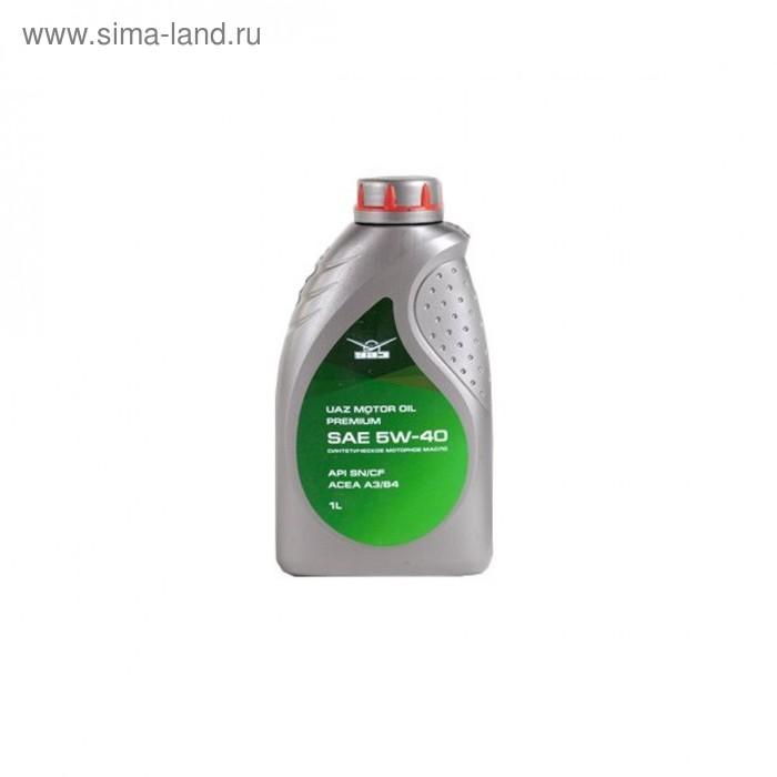 "Моторное масло ""Лукойл UAZ Motor Oil Premium 5W-40"", 1 л"