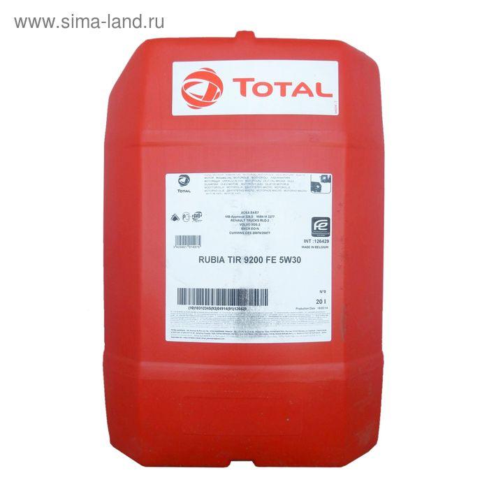 Моторное масло Total RUBIA TIR 9200 FE 5W-30, 20 л