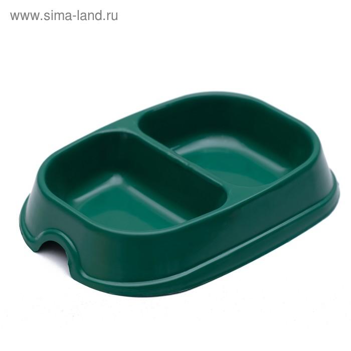 Миска 2 х 200 мл, зеленая