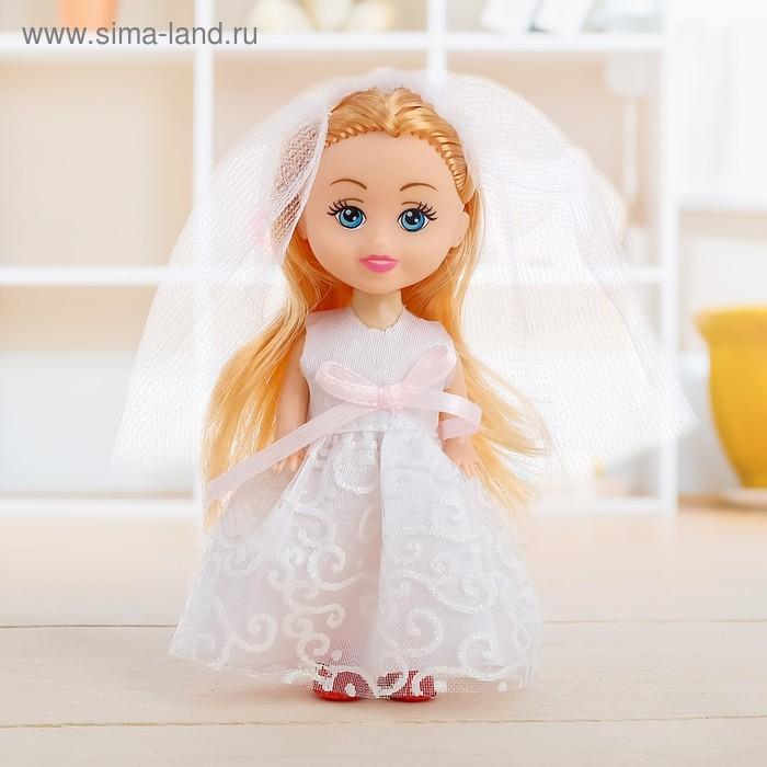 Кукла малышка в свадебном наряде, МИКС