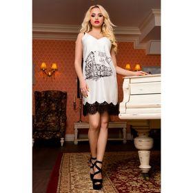 Платье женское SbS 71183  цвет молоко, размер S (42), рост 168