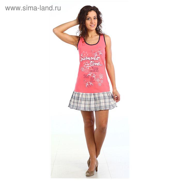 Платье женское Кэрол цвет коралловый, р-р 48