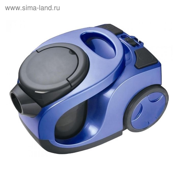 Пылесос Eden HS-201, 1800 Вт, мощность всасывания 350 Вт, 2 л, синий