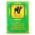 """Объемный магнит с открыткой """"Слон"""", стабильность"""