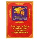 """Объемный магнит с открыткой """"Феникс"""", процветание"""