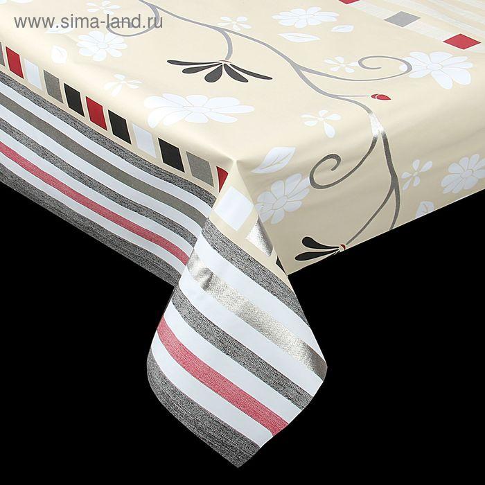 Клеенка столовая на нетканой основе 20 м, ширина 137 см, толщина 0,18 мм