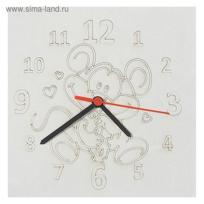 """Песочные часы """"Мышонок"""": механизм, 3 стрелки, крючок"""