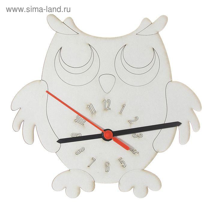 """Песочные часы 3D """"Сова"""": механизм, 3 стрелки, крючок"""