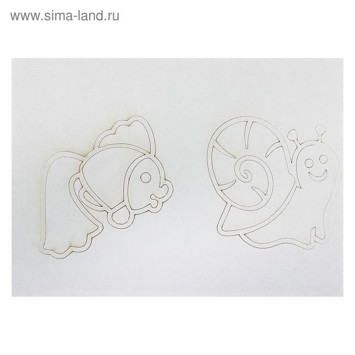 """Трафареты для малышей """"Песочный мир №2"""" А3"""