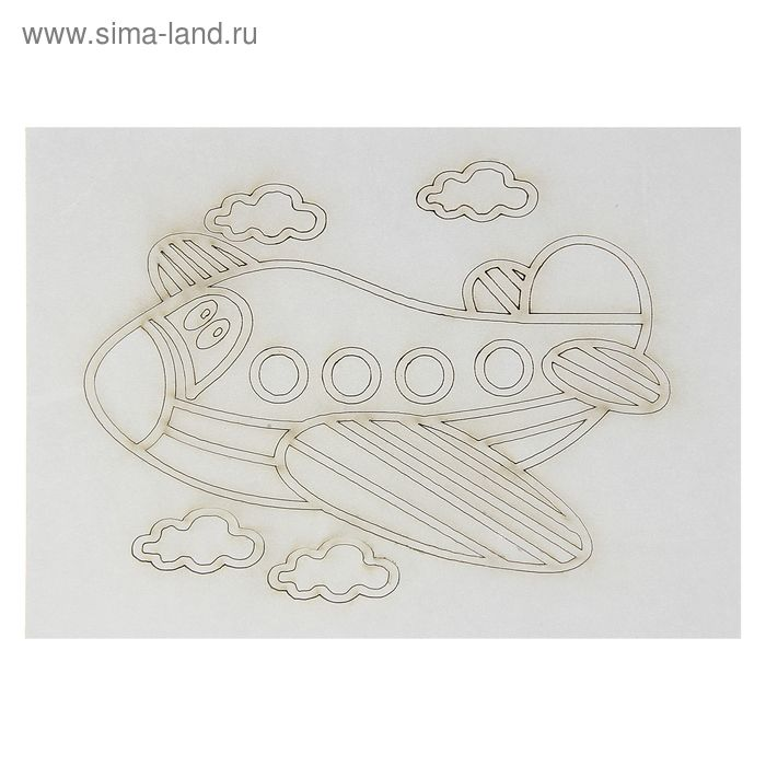 "Трафарет ""Самолетик"" A5"