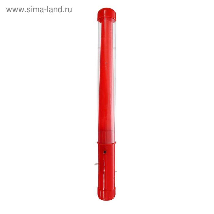 """Палочка световая """"Однотонная"""", цвет красный"""