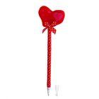 """Мягкая ручка """"Сердце с бантиком"""""""