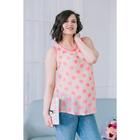 Блузка для беременных 2248, цвет розовый, размер 44, рост 170
