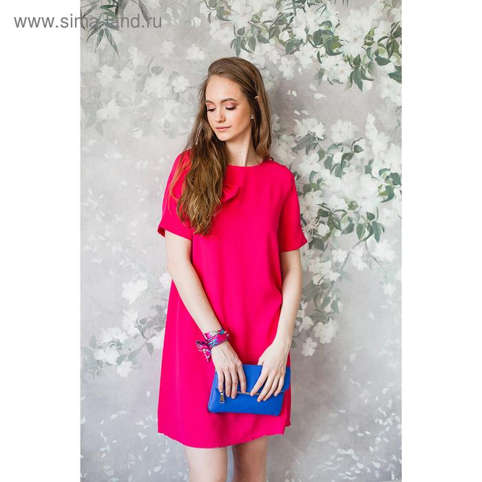 Платье женское, размер 44, рост 168, цвет розовый (арт. 15203)