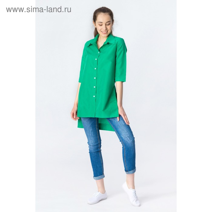 Платье женское, размер 56, рост 168,цвет бирюза х/б (арт.17247 С+)