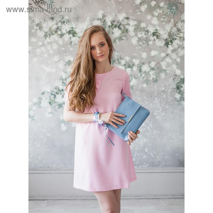 Платье женское, размер 50, рост 168, цвет малина (арт. 15203 С+)