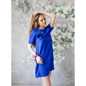 Платье женское, размер 44, рост 168, цвет электрик (арт. 15203)