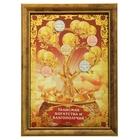 """Денежное дерево в рамке """"Талисман богатства и благополучия"""""""