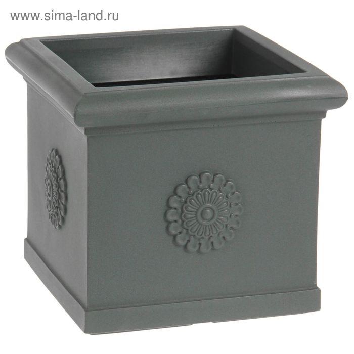 """Ваза декоративная 30 л """"Византия"""", цвет антрацит"""