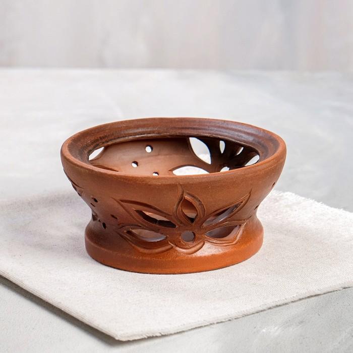Камин для турки красная глина