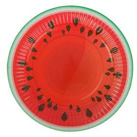 Тарелка с ламинацией 'Арбуз' 18 см Ош