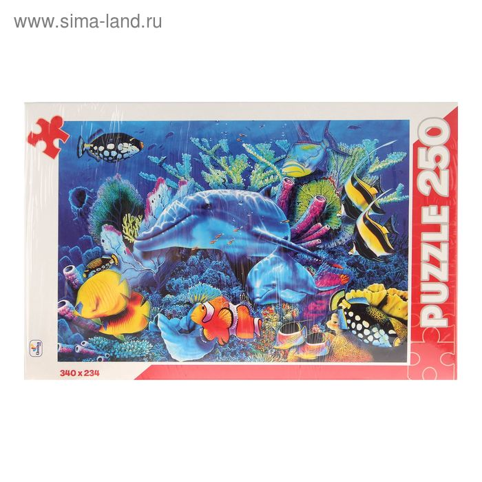 """Пазлы """"Подводный мир"""", 250 элементов"""