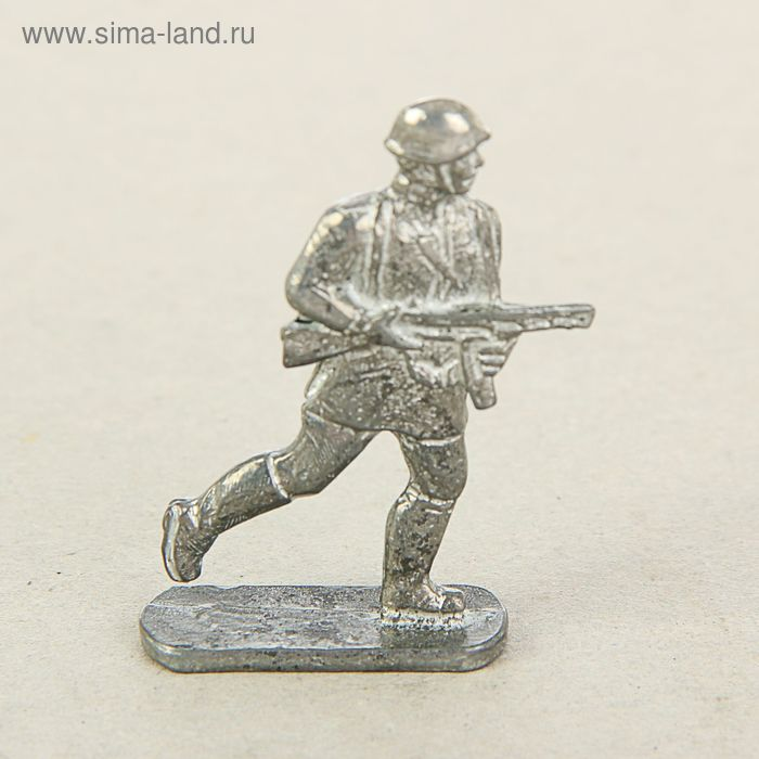"Сувенир солдатик ""Красноармеец с автоматом"""