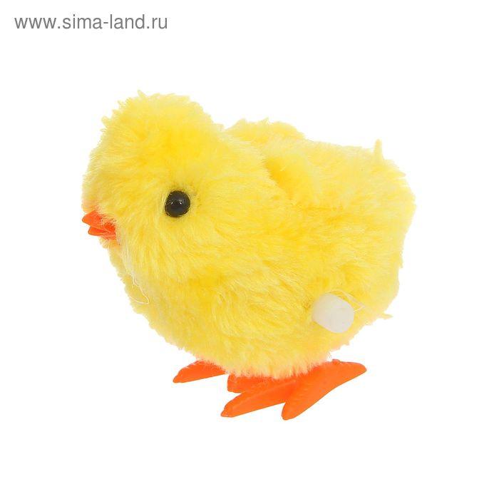 """Игрушка интерактивная """"Цыпленок"""" заводная"""