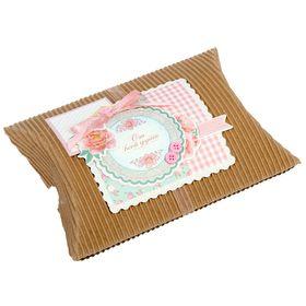 Набор для создания коробки-подушки 'Бесценные моменты', 14 х19 см Ош