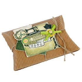 Набор для создания коробки-подушки 'Hand made', 14 х19 см Ош