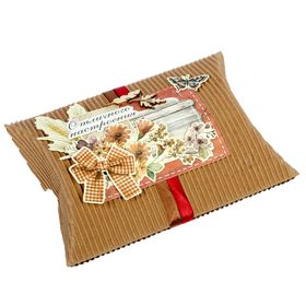 Набор для создания коробки-подушки 'Отличного настроения', 14 х19 см Ош