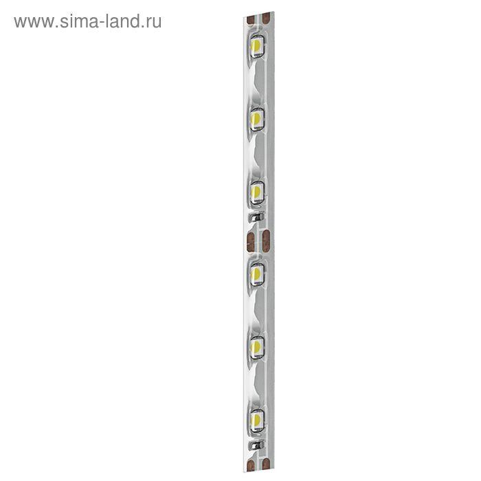 Лента светодиодная Geniled GL-60SMD3528WE, 4.8 Вт, шир.8 мм, 300 Лм, IP65, влагозащ. белый