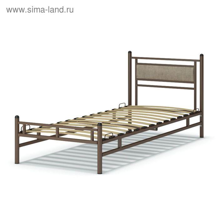 Кровать Мелина 900х900х2080 венге