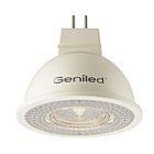 Лампа светодиодная Geniled, GU5.3, MR16, 5 Вт, 4200 К  дневной свет