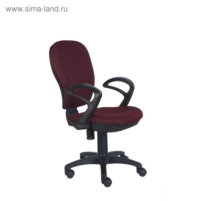 Кресло CH-513AXN/#Ch бордовый JP-15-6