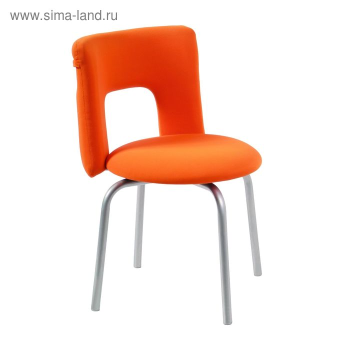 Стул KF-1/ORANGE26-29-1 вращающийся оранжевый