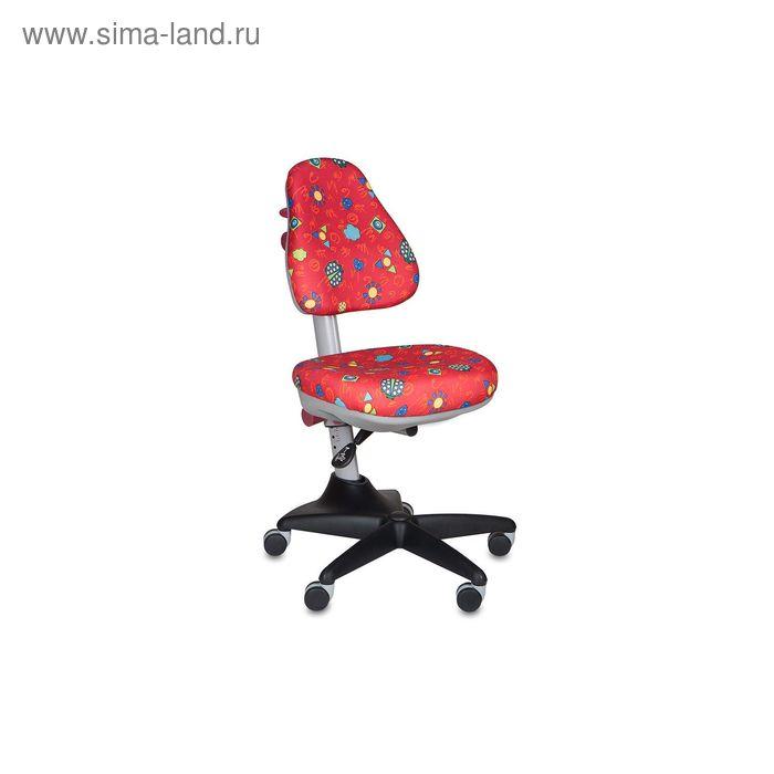 Кресло детское KD-2/R/LB-Red красный божьи коровки LB-Red