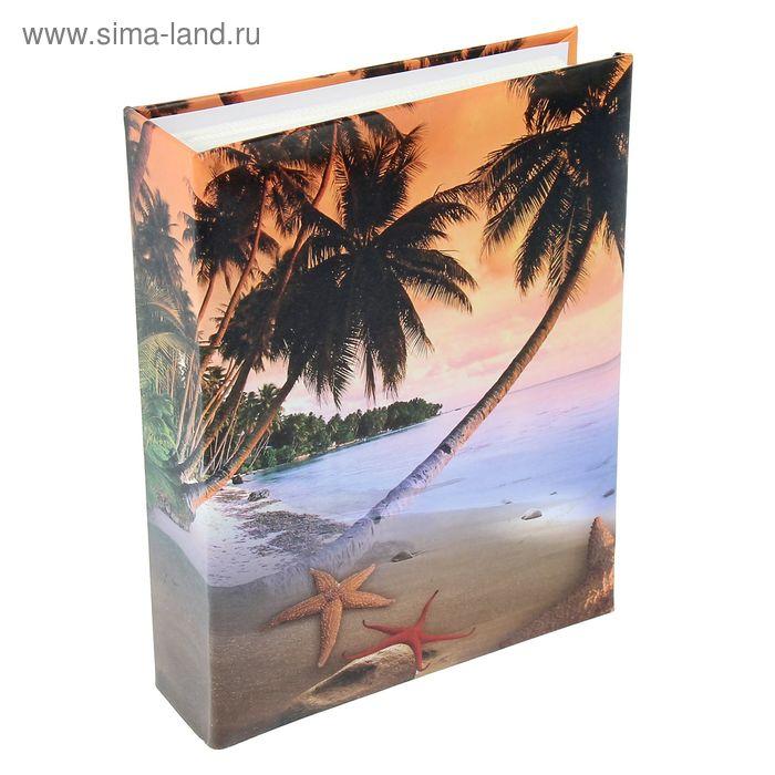 """Фотоальбом на 192 фото 10х15 см """"Райский остров"""""""