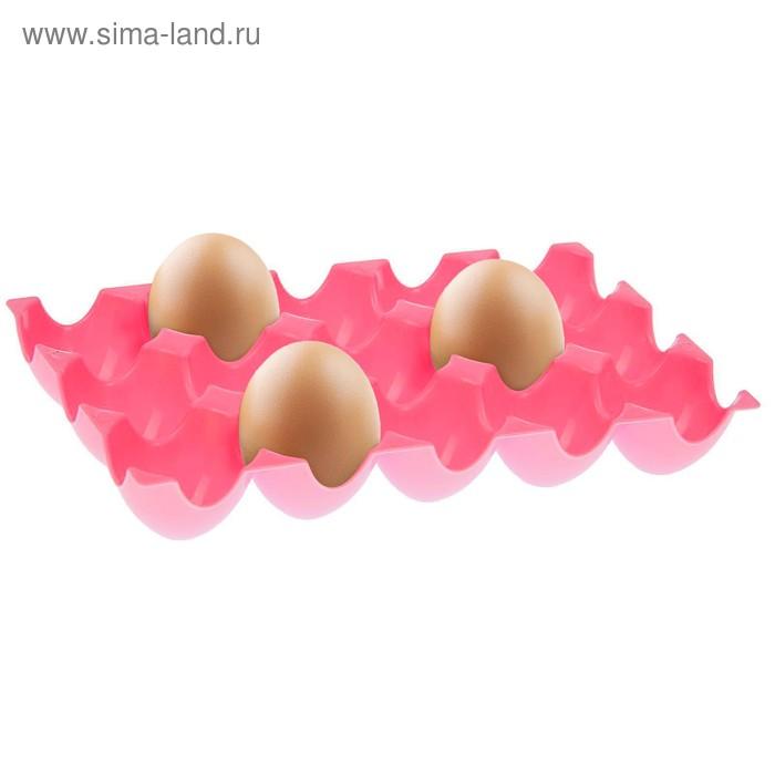 Лоток для яиц 24х14,5х3,5 см, 15 ячеек