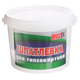 Шпатлёвка по гипсокартону Brozex, 3 кг