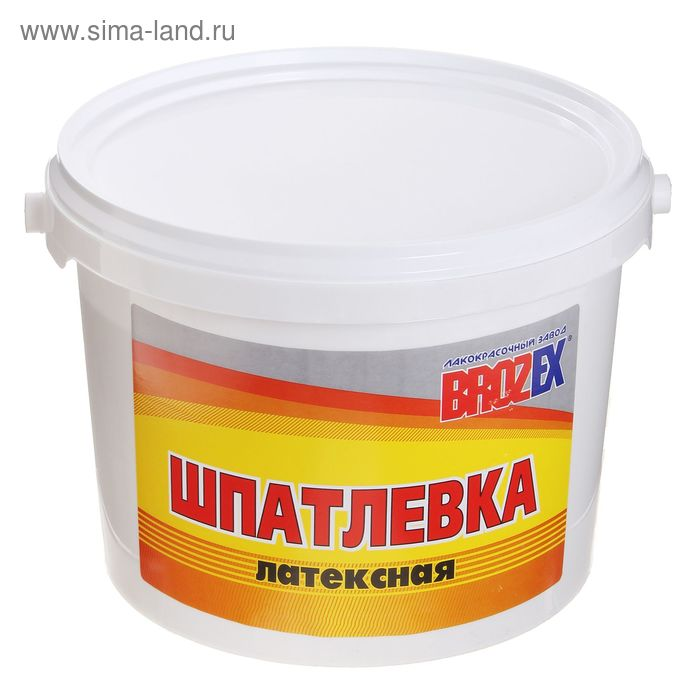 Шпатлёвка латексная Brozex, 3,0 кг