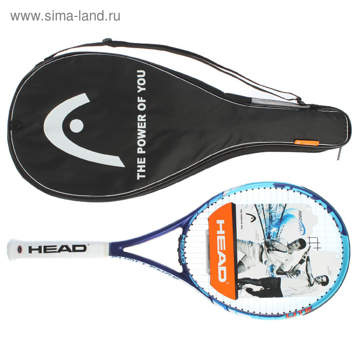 Ракетка для большого тенниса HEAD Challenge Lite Gr3, графит, со струнами