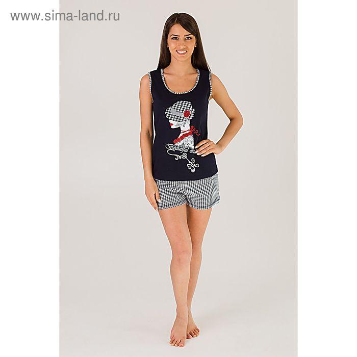 Комплект женский (майка, шорты) Софи, размер 50