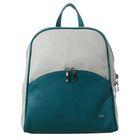 """Рюкзак молодёжный на молнии """"Вирджиния Мини Light"""", 1 отдел, наружный карман, цвет зелёный/светло-серый"""